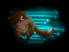 Glowey Fox oUo by FoxLover12
