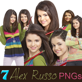 Alex Russo PNGs by lexxal