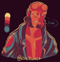 Hellboy in 15 by Shellsweet