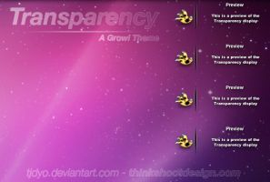 Transparency A Growl Theme by Tjdyo