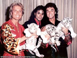 MJ and tigers by brebre890