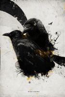 Wild Crows by storm-eagle