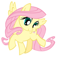 Fluttershy Vexel (MLP activity book) by MidnyteSketch