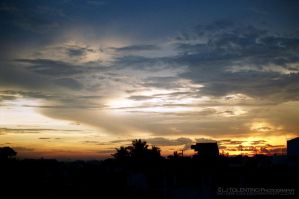 Sunset view From my Terrace by ScarFoo