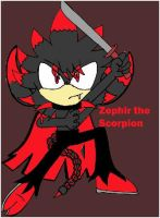 Zephir the Scorpion by SonicaSpeed