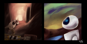 WALL-E: Missing Piece by schellibie