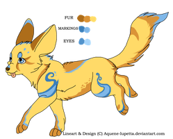 Customized fennec by Aquene-lupetta