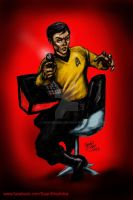 Sulu -- Red Alert by hoganvibe