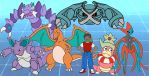 My power team on Omega Ruby by Gloverboy23
