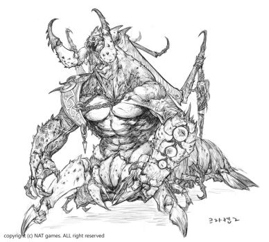1609 new Raid moster concept 2 by alswns3421