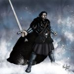 Jon Snow by arcburncomics