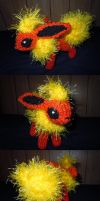 R10S3 Flareon by ScarletPianoWires