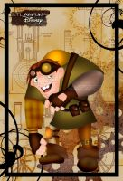 Steampunk Quasimodo by HelleeTitch