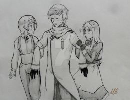 R Russia and sisters by swiftdreamer15