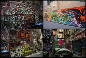 Melbourne Street Art by addle93