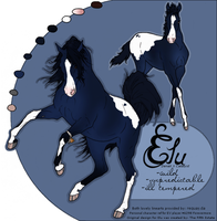 Personal Character reference for Elu by TalinaRaine