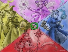The Witches of Oz by Naturally1nsane