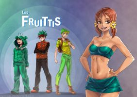Los Fruittis by opcrom