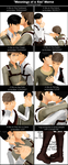 [MMD] Meanings of a Kiss Meme [Jean x Marco] by Setsukko