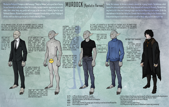 Murdock reference sheet by kevintheradioguy