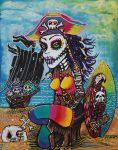 Pirate Girl - Surfs Up by barbosaart