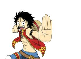 Monkey D. Luffy by CrielineZodiac