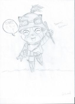 Teemo by Zombtrix