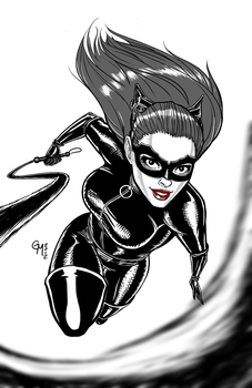 Catwoman Rises by hermit-homeboy