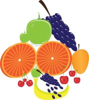 Mixed Vector Fruits by sheikhrouf23