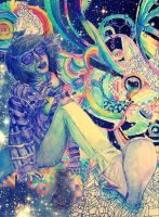 our space in outer space by flowwwer