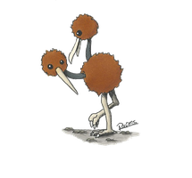 Kanto no. 084 Doduo by Randomous