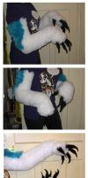 Blue Jay Gloves by CuriousCreatures