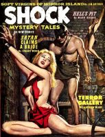 SHOCK MYSTERY TALES cover art by peterpulp