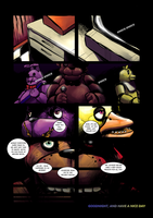 Five Nights at Freddy's : Day and Night page 23 by BrianXKaren