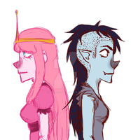 peebles and marcy by PeppermintBat