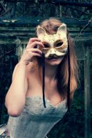 Cat Mask by Swimming-Up-Currents
