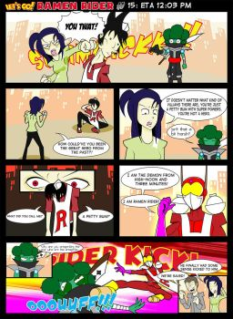 Let's Go Ramen Rider #15 by ZiahY0nchume
