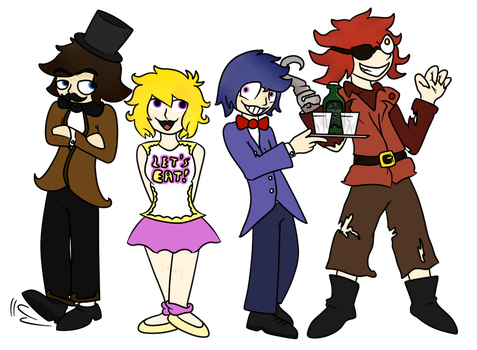 Five Nights at Freddy's by euamodeus