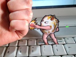 Paperchild 124. Pokemon#56 - Mankey by FuriarossaAndMimma