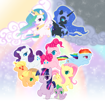 .:My Little Pony:. by PhantomCarnival