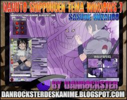 Sasuke Suzanoo Theme Windows 7 by Danrockster