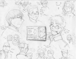 Hughes' Glasses for All by chiharu-octavia