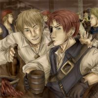 Kirkland Pirates by one-who-draws