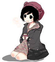 gasps and draws xion,,, by ariamisu