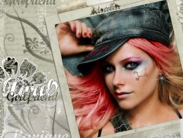 Avril Girlfriend Wallpaper by MP-Design