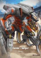 Taurian Charger by hikaruga
