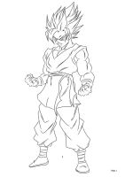 Son Goku UC by darkhawk5