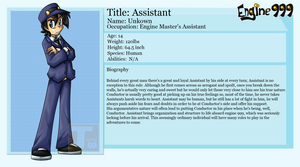 Assistant's profile by Tailzkip