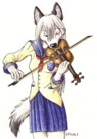 The Violinist by Catwolf