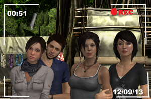 Liza,Jason,Lara and Sametha- Lovers and Friends by Hatredboy